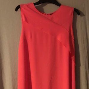 ELIE TAHARI PINK SLEEVELESS SHEATH DRESS 12 NWOT
